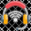 Wireless Headset Icon