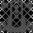 M Wireless Key Icon