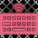 Wireless Keyboard Icon