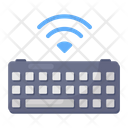 Wireless Keyboard Computer Hardware Input Device Icon