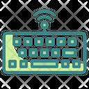 Wireless Keyboard Keyboard Electronic Icon