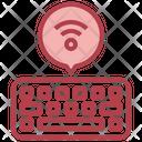 Wireless Keyboard Keyboard Peripheral Icon