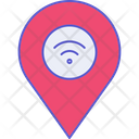Wireless Location Internet Location Icon