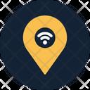 Wireless Location Internet Wifi Icon