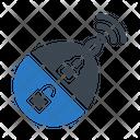 Wireless Lock Icon