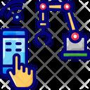 Manufacturing Machinem Wireless Manufacturing Machine Icon