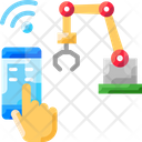 Manufacturing Machinem Wireless Manufacturing Machine Icon