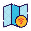 Wireless Map Icon