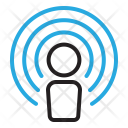 Wireless Name Identity Icon