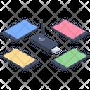 Wireless Network Broadband Network Router Icon