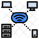 Wireless Network Wireless Technology Connected Devices Internet Connection Icon