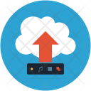 Wireless network storage Icon