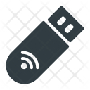 Wireless pendrive Icon