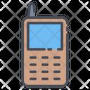 Transceiver Wireless Mobile Walkie Talkie Icon