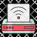 Printer Scanner Wireless Icon
