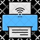 Wireless Printer Wifi Printer Print Icon