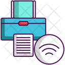 Wireless Printer Printer Wireless Icon