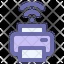 Wireless Printer Printer Technology Icon