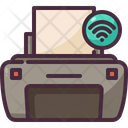 Printer Internet Of Things Electronic Device Icon