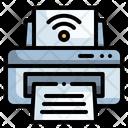 Wireless Printer Printer Network Icon