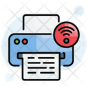 Print Printer Wireless Icon
