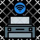 Wireless Printer Printer Print Icon