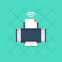 Wireless Printer Icon