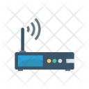 Wireless Router Device Icon