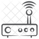 Internet Service Wireless Router Network Hub Icon