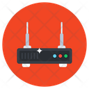 Wireless Router Network Hub Wifi Router Icon