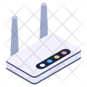 Internet Service Modem Network Hub Icon