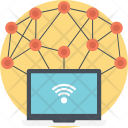Wireless Sensor Network Icon