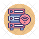 Wifi And Server Icon