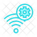 Wireless Setting Signal Icon