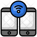 Wireless Smartphone Wireless Smartphone Icon