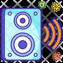 Wireless Speaker Volume Speaker Voice Icon