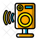 Wireless Speaker Icon