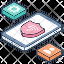 Wireless Network Wifi Network Broadband Network Icon