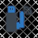 Wireless Usb Internet Icon
