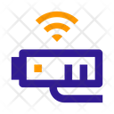 Wireless Video Surveillance Icon
