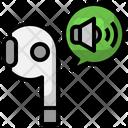 Wireless Volume Airpod Icon