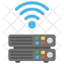 Wireless Web Server Icon