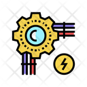 Electrical Wire Color Icon