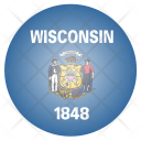 Wisconsin Us State Icon