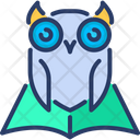 Knowledge Owl Wisdom Icon