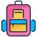 Backpack Bag School Icon