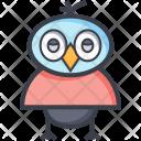 Wisdom Graduate Owl Icon