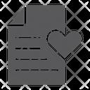 Wish List Paper Icon
