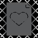 Wish List Document Icon