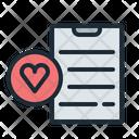 Wishlist Like Bookmark Icon